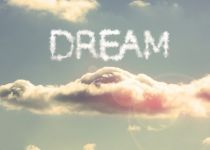 depositphotos 25719647 stock photo clouds spelling out dream